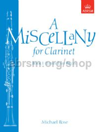 A Miscellany for Clarinet, Book I