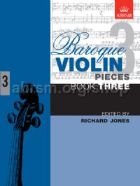 Baroque Violin Pieces, Book 3