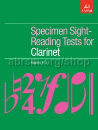 Specimen Sight-Reading Tests for Clarinet, Grades 1–5