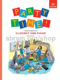 Party Time! 15 party pieces for clarinet and piano