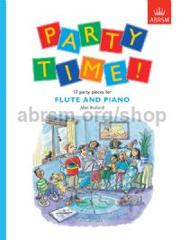 Party Time! 17 party pieces for flute and piano