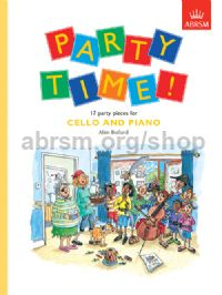 Party Time! 17 party pieces for cello and piano