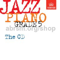 Jazz Piano Grade 5: The CD