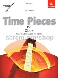 Time Pieces for Oboe, Volume 1