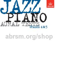 Jazz Piano Aural Tests, Grades 4 & 5