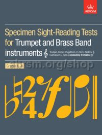 Specimen Sight-Reading Tests for Trumpet and Brass Band Instruments (Treble clef), Grades 6–8