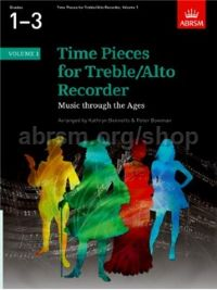Time Pieces for Treble/Alto Recorder, Volume 1