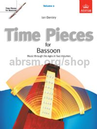 Time Pieces for Bassoon, Volume 2