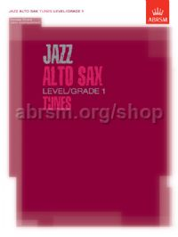Jazz Alto Sax Level/Grade 1 Tunes/Part & Score & CD