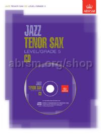 Jazz Tenor Sax CD Level/Grade 5