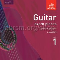 Guitar Exam Pieces 2009 CD, ABRSM Grade 1