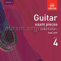Guitar Exam Pieces 2009 CD, ABRSM Grade 4