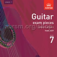 Guitar Exam Pieces 2009 CD, ABRSM Grade 7