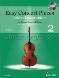 Easy Concert Pieces for Double Bass, Vol. 2