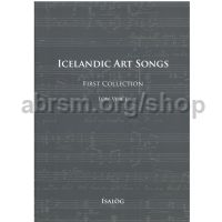 Icelandic Art Songs, First Collection (Low Voice)