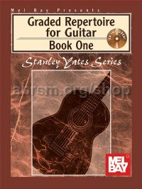 Graded Repertoire for Guitar Book 1 (Book & Audio Download)