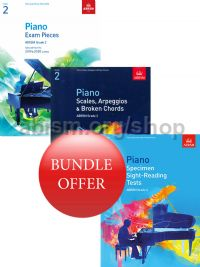ABRSM Piano Exams 2019-2020 Grade 2 Bundle Offer (Book Only) - Save 10%