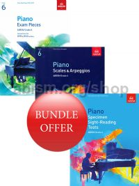 ABRSM Piano Exams 2019-2020 Grade 6 Bundle Offer (Book Only) - Save 10%