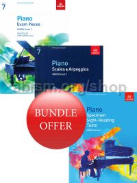 ABRSM Piano Exams 2019-2020 Grade 7 Bundle Offer (Book Only) - Save 10%
