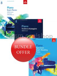 ABRSM Piano Exams 2019-2020 Grade 8 Bundle Offer (Book Only) - Save 10%