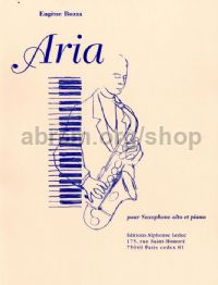 Aria for Alto Saxophone & piano