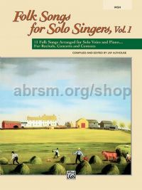 Folk Songs for Solo Singers, Vol. 1 (High Voice)