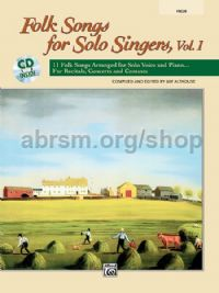 Folk Songs for Solo Singers, Vol. 1 (High Voice - Book + CD)