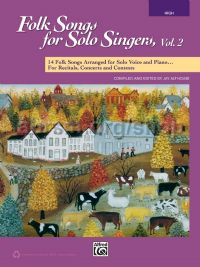 Folk Songs for Solo Singers, Vol. 2 (High Voice)