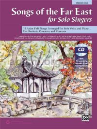 Songs of the Far East for Solo Singers (Medium/High Voice - Book & CD)