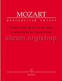 Complete Works for Violin & Piano, Vol.I