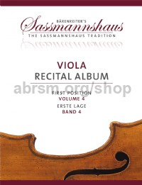 Viola Recital Album - Volume 4