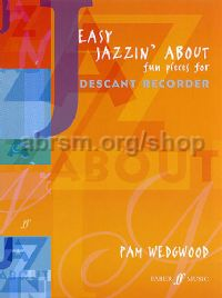 Easy Jazzin' About (Descant Recorder & Piano)