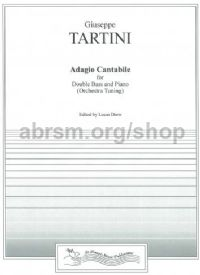 Adagio Cantabile Op. 65 (arr.  double bass & piano)