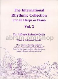 The International Rhythmic Collection Vol. 2 for harp