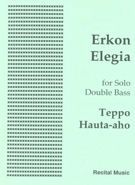 Erkon Elegia for solo double bass