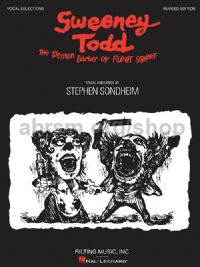 Sweeney Todd - Stage Vocal Selections Revised (PVG)