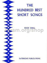 100 Best Short Songs Book 3 Contr/bar/bass
