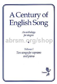 Century Of English Song 1 Soprano