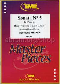 Sonata No. 5 in Bb (arr. bass trombone & piano)