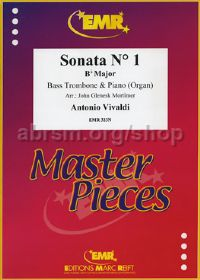 Sonata No. 1 in Bb (arr. Mortimer for bass trombone & piano)