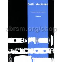 Suite ancienne for descant recorder and piano