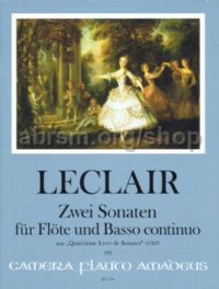 2 Sonatas op.4/2, e minor • op.4/7, G major