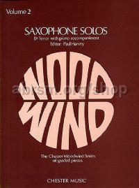 Saxophone Solos for Bb tenor saxophone, Vol. 2