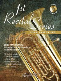 1st Recital Series for Tuba/Bb Bass (Book & CD)