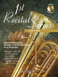 1st Recital Series for Tuba In C (Book & CD)