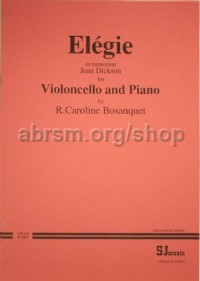Elegie In Memoriam Cello