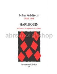 Harlequin for soprano saxophone & piano