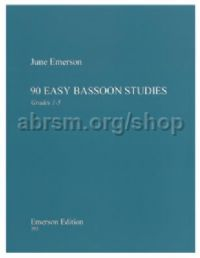 90 Easy Bassoon Studies for bassoon