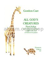 All God's Creatures for trombone & piano