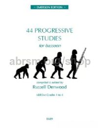 44 Progressive Studies for Bassoon